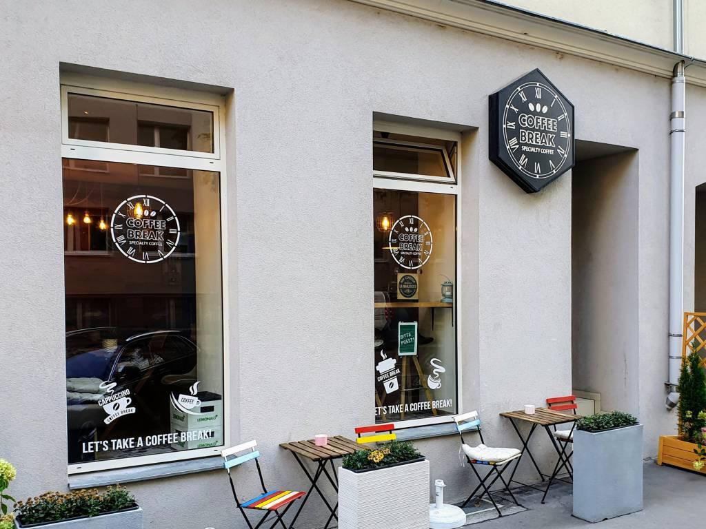 Coffee Break 1090 Wien Berggasse von Außen