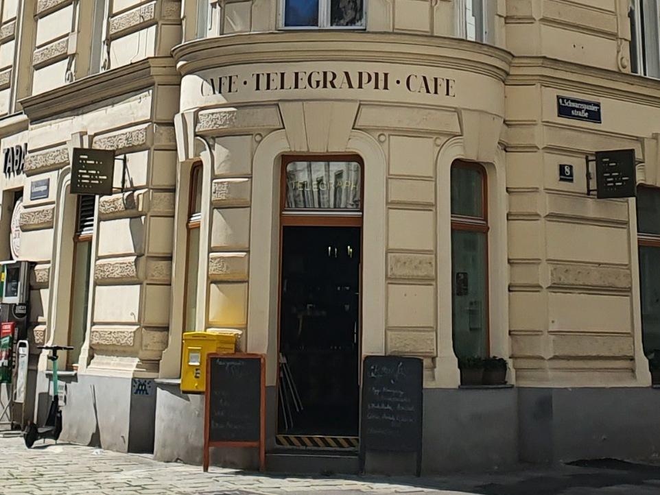 Cafe Telegraph Eingang