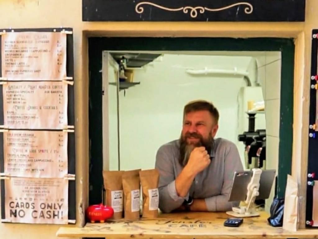 Fenster Cafe Sasha Iamkovy