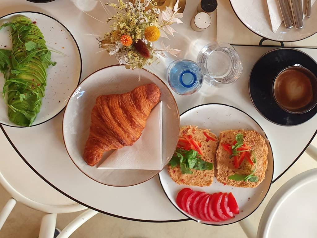 Frühstück im Creme de la Creme
