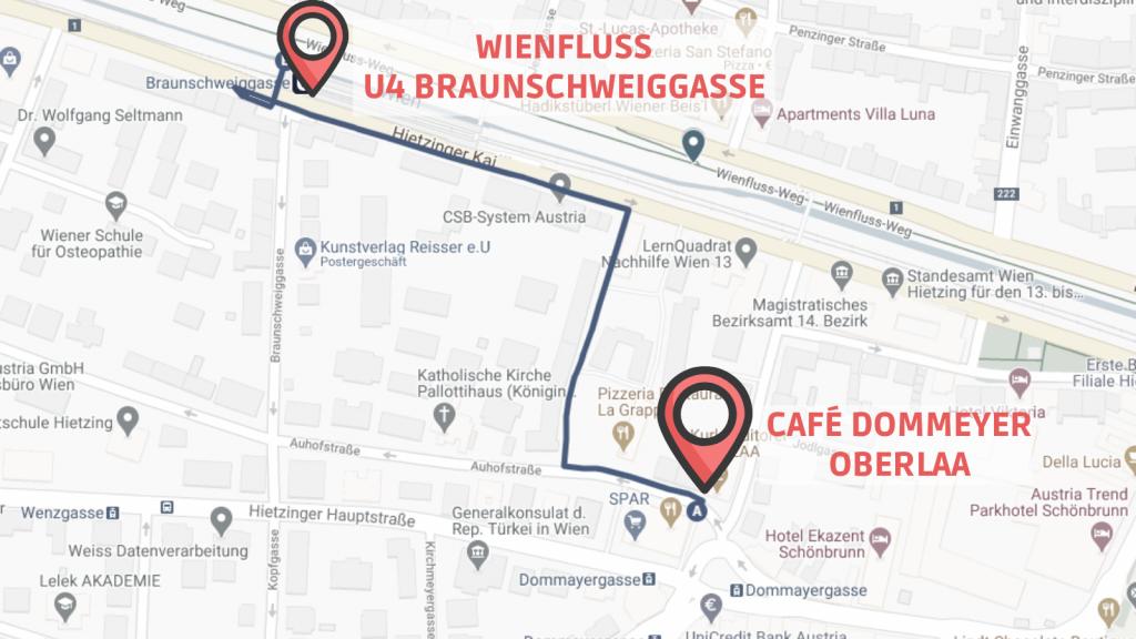 CW Schönbrunn Linie 14 Wienfluss