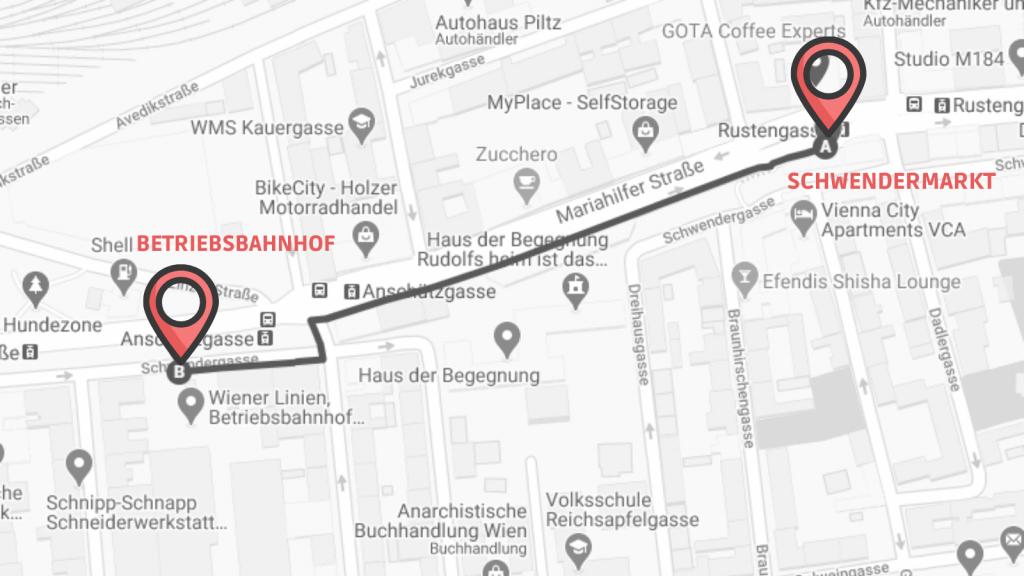Coffeewalk Schönbrunn Linie 2