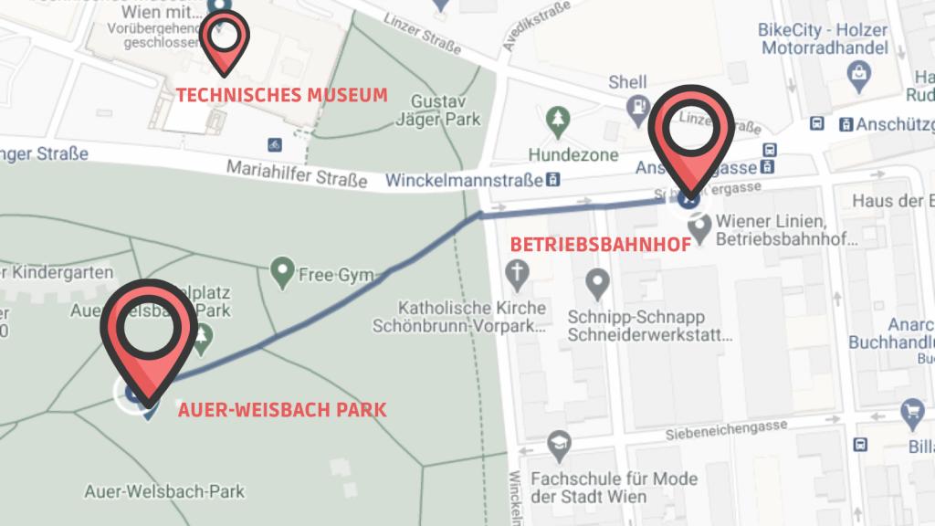 CW Schönbrunn Linie 3