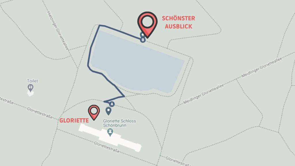 CW Schönbrunn Linie 9 Ausblick