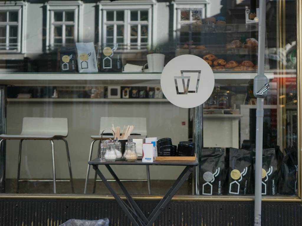 Caffe a Casa Auslage