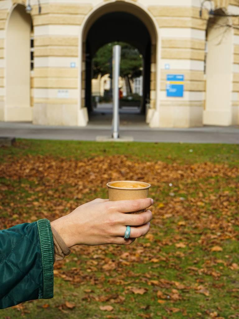 Altes AKH Herbst coffeewalk
