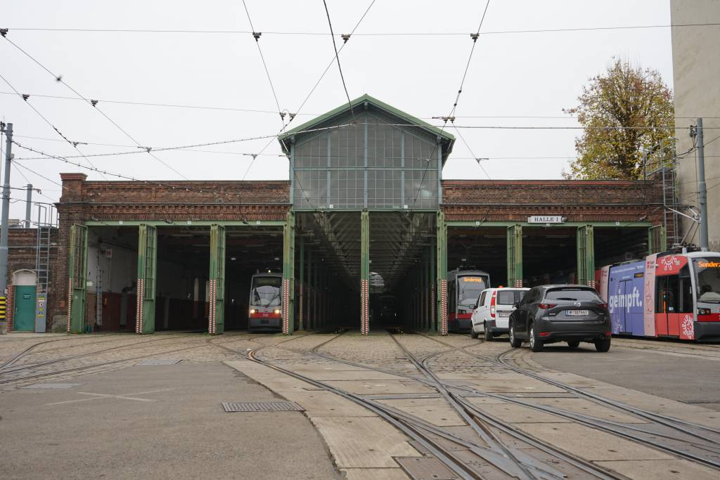 Wiener Linien Betriebsbahnhof