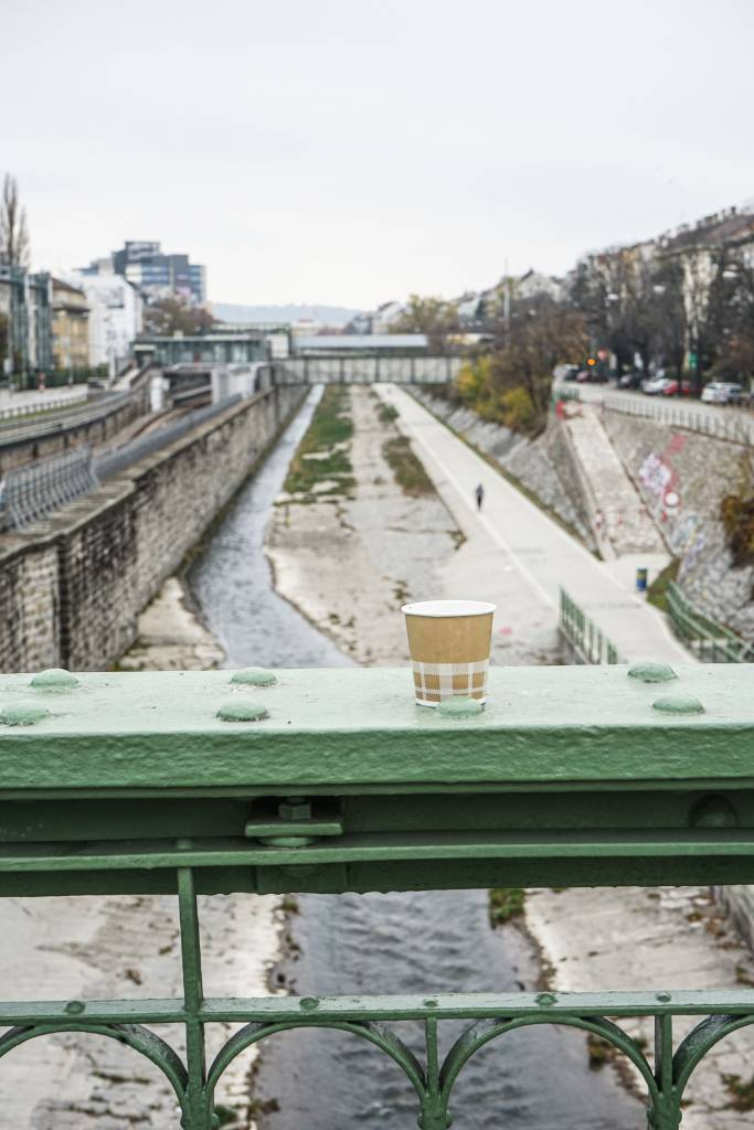 Blick auf den Wienfluss