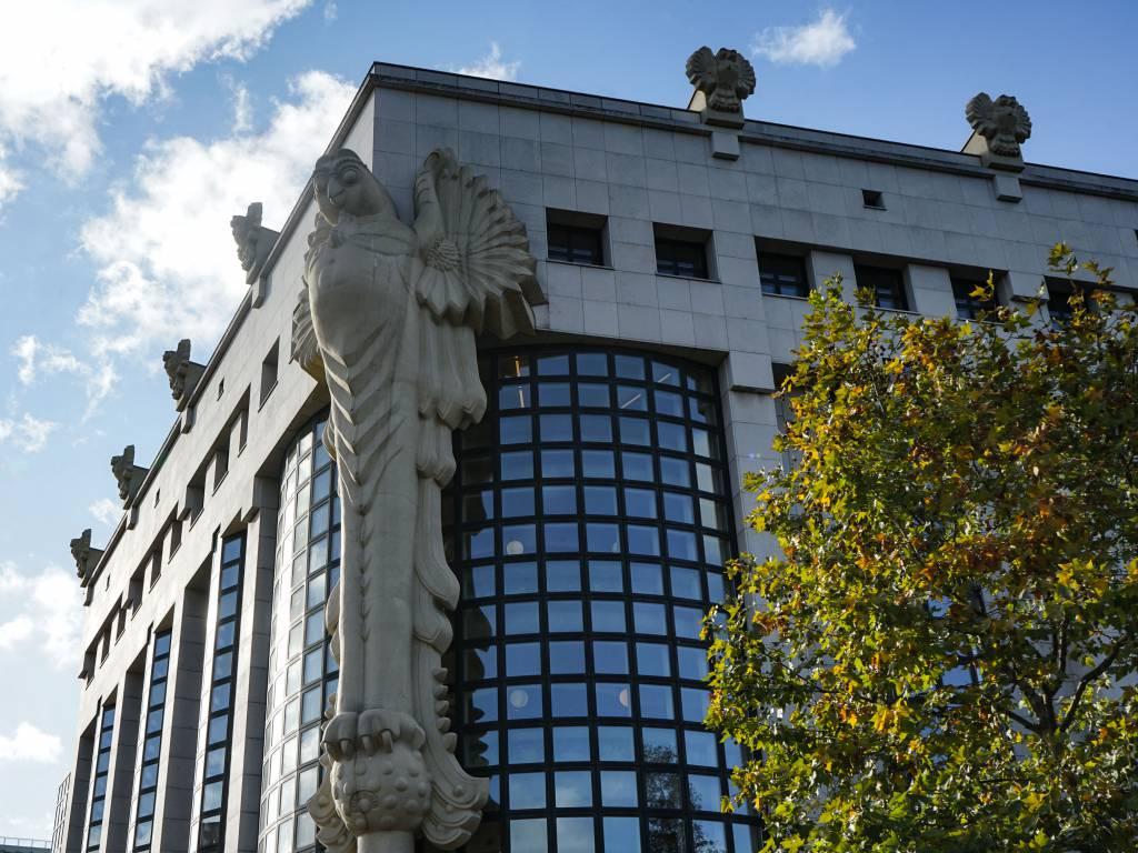 Technische Universität Wien Coffeewalk Eulenstatue