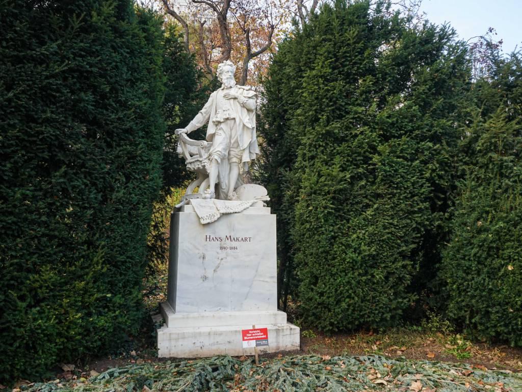 Hans Makart Denkmal Coffeewalk Stadtpark
