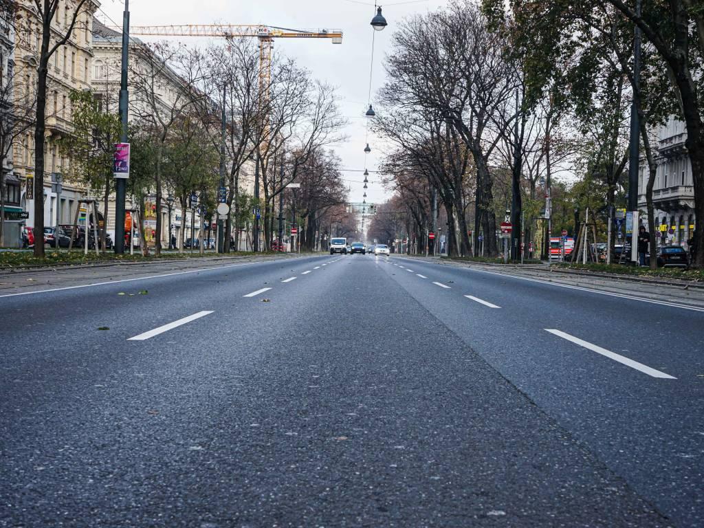 Schubertring Coffeewalk Straße Aussicht Autos