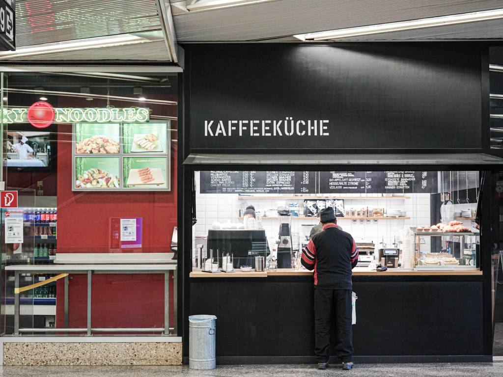 Kaffeeküche Coffeewalk Schottentor unten