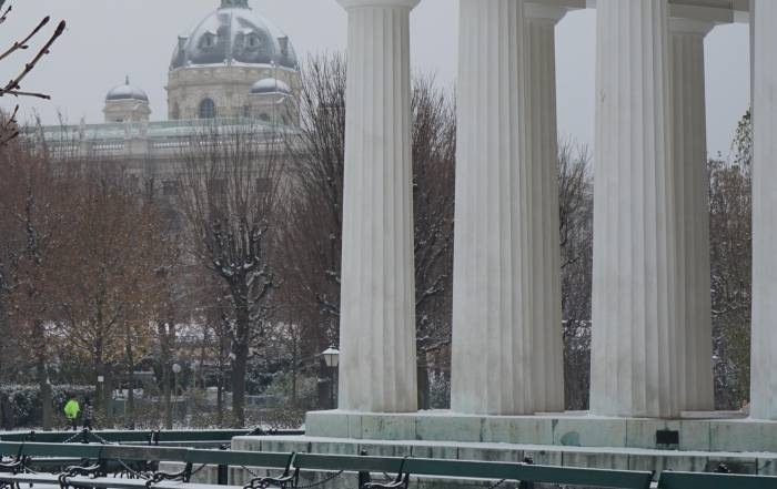 Wien im Schnee