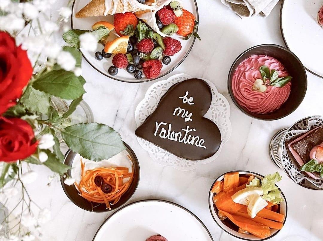 Valentinstags Brunchbox
