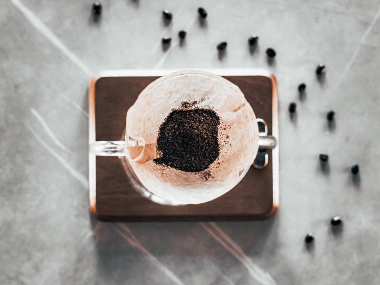 Verwendung von Kaffeesatz