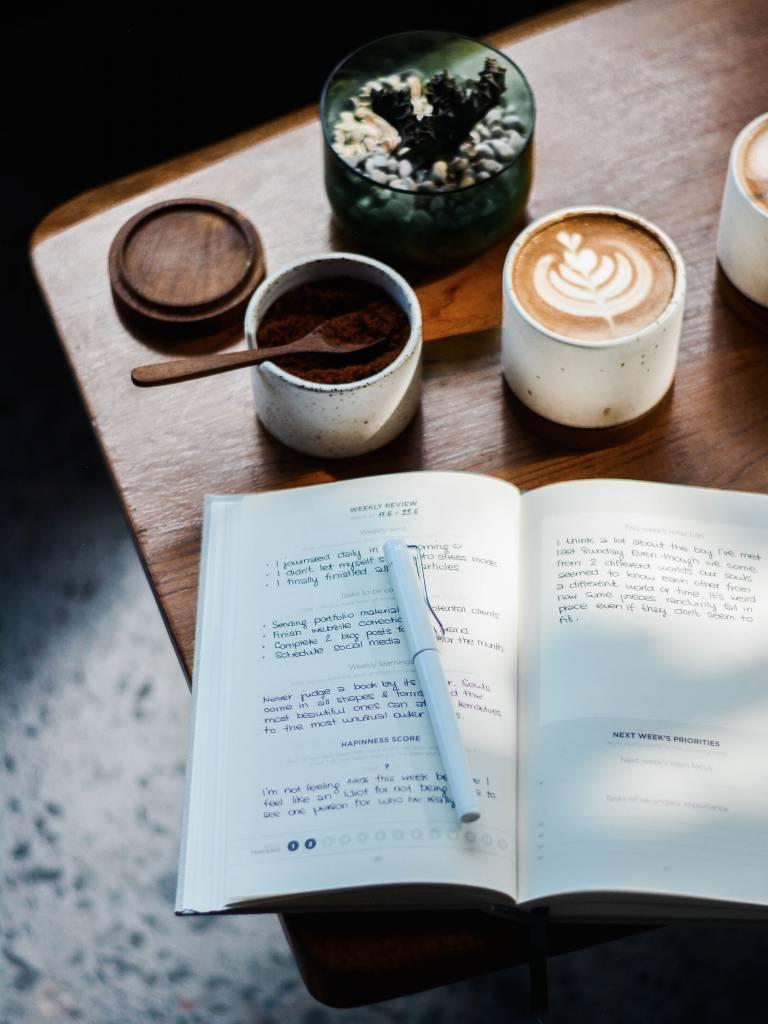 Gedanken und Ideen aufschreiben